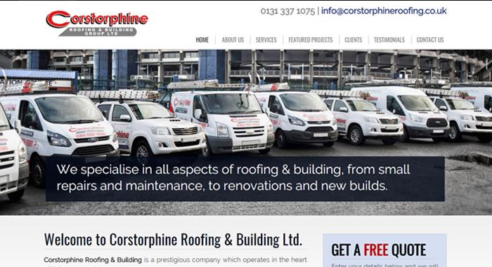 Corstorphine Roofing & Building Ltd.