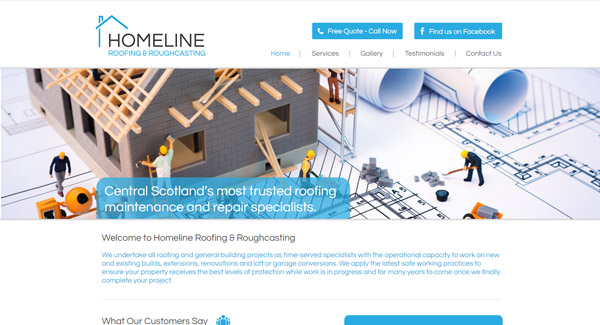 Homeline Roofing & Roughcasting