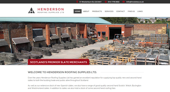 Henderson Roofing Supplies Ltd.